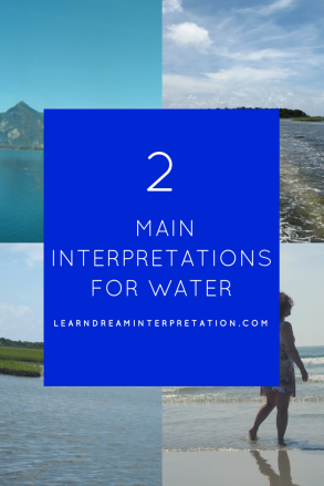 two main interpretations for water symbol