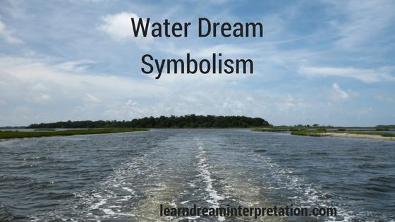 Water Dream Symbolism