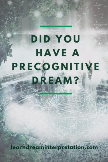 Precognitive Dream
