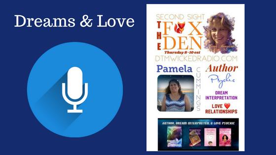 Pamela Cummins Dream Interpreter on Radio Show