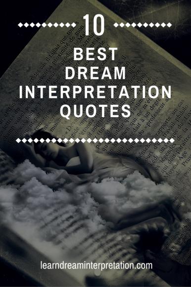 Best Dream Interpretation Quotes
