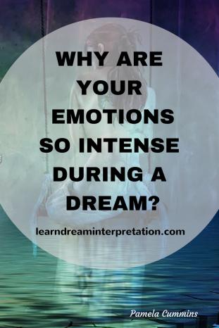 Intense emotions in dream